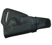 5.1 dedicated silhouette back side holster (made of leather Black) No.262-BK Government / Haikyapa
