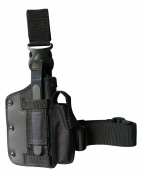 Swat Tactical Holster (Nylon Black) Leg Hip combined use type No.120-BK