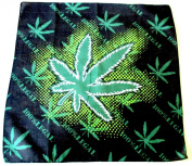 Marijuana Hemp Leaf Logo 420 Weed 100% Legal Bandana Model 5