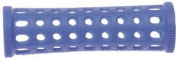 PLASTIC HAIR ROLLERS BLUE Pk 10 x 20mm + FREE PINS