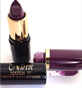 New Eve Trendy 2 in1 Match it PLUM Lipstick and Lip Gloss 15ml Cosmetic Duo Makeup
