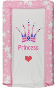 BABY CHANGING MAT princess baby pink