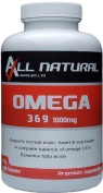 All Natural Omega 3 6 & 9, 1000mg pack of 200 High Strength liquid softgels. £10.99. With. on all UK orders