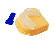 Denshine (TM) Anti Snore/Snoring Stopper Mouth Guard Custom Fit Clinically Proven to Eliminate & Cure Snoring Fast! - Best New Pro Anti Snoring Devices Sleep Apnea Aids Remedies Product