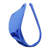 TOOGOO(R) Sexy C-string Thong Invisible Underwear Panty for Men - Blue
