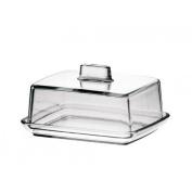 High Quality Glass Butter Dish 14.5 cm Length 12 Width