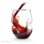 Final Touch Conundrum Red Wine Glasses - Hand Blown Glass 473ml - Pack of 4