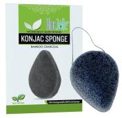 Konjac Sponge - Activated Bamboo Charcoal