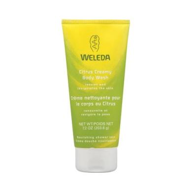 Weleda Creamy Body Wash Citrus - 210ml - Weleda