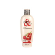 Pure and Basic Body Wash - Cherry Almond - 350ml - Pure and Basic