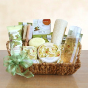 Elegant Vanilla Orchid Spa Mothers Day Gift Basket