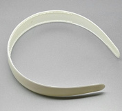 """12 Pieces New White Plastic Hairbands Wide Simple Style Headband Hair Bands Holder Hoop 38cm(15"""") Long"""