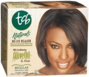 TCB Naturals Olive Oil No Lye Relaxer Kit - Super