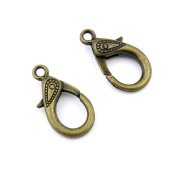 Qty:110 Jewellery Clasps Findings Supplies Craft Ancient Repair Lots DIY Antique Pendant Vintage Z71180 Lobster Clasp