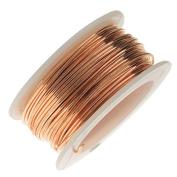 Artistic Wire, Bare Phosphor Bronze Craft Wire 18 Gauge, 4 Yard Spool