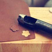 1 piece Big 24mm Blossom shap hole hollow cutter punch Die handmade leathercraft DIY tool