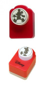 Set of 2 Disney Craft Paper Punches - Mickey Mouse & Walking and Strolling