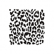 Pattern Stencil - Leopard Print