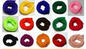 Generic Mesh Flower Stocking DIY Nylon Silk Stockings Flower for Diy Flower 50pcs Multicolor