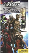 Valentine's Day 16ct Guardians of the Galaxy Pencils and Exchange Cards
