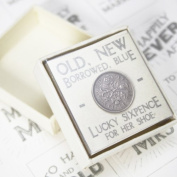 East Of India Lucky Sixpence Gift Favour Token
