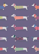 Dachshunds Rolled Gift Wrap Paper