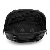 Loungefly Matte Black Bandana Sugar Skull Dome Bag