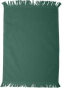 Towels Plus by Anvil Fringed Fingertip Towel - Hunter Green