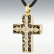 Perfect Memorials Cross Of Glory Stainless Steel Cremation Jewellery