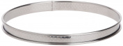 De Buyer 3093.22 Tart Rings with Perforated Rounded-Off Edges 22 cm