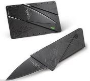 New Cardsharp Credit Card Folding Razor Sharp Wallet Knife survival tool thin