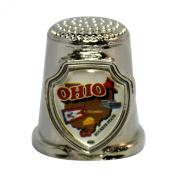 Souvenir Thimble - Ohio