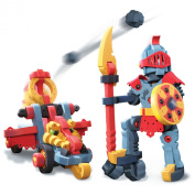 Bloco Construction Toys Dragon Knight & Catapult 160 Piece Set