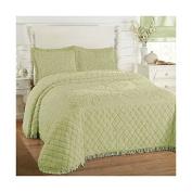 Lamont Limited Josephine Bedspread, Full, Sage