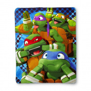 Nickelodeon Teenage Mutant Ninja Throw Blanket
