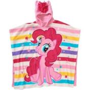 My Little Pony Pinkie Pie Super Soft Fleece Poncho with Mane