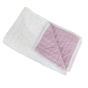 Auggie Quilt-velvet and Voile, Milly