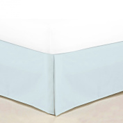 Sweet Home Collection 1500 Series Egyptian Quality Deep Pocket Bed Skirt/Dust Ruffle, Full, Aqua