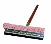 Carrand 9047R 20cm Metal Head Deluxe Squeegee with 80cm Wood Handle