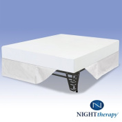 Night Therapy 20cm Therapeutic Memory Foam Mattress & Bed Frame Set - King