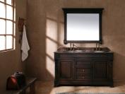 James Martin Furniture Double Cabinet Vanity, 150cm , Burnished Mahogany