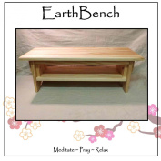Meditation Bench ~ 25cm tall Personal Altar Table by EarthBench
