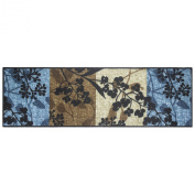 Modern Living Tulips Decorative Area Accent Rug, 50cm by 150cm