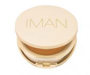 Iman Oil Blotting Pressed Powder Light Medium