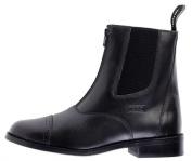 Toggi Augusta Child's Zip-up Leather Jodhpur Boot In Black, Size