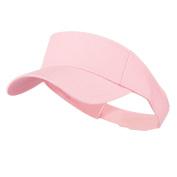 Youth Cotton Sun Visor - Pink