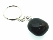 Bloodstone Gemstone Crystal Keyring