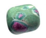 Ruby and Fuschite Gemstone Tumblestone