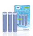 blu Ionic Power Filter NMC Filter Cartridges, Filter Heavy Metals and Chlorine, 3-Piece Value Pack