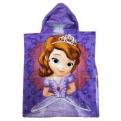Disney Junior Sofia the First Poncho Hooded Towel